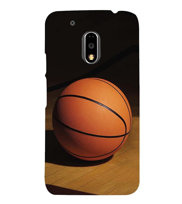 The Basketball Back Cover for Motorola Moto G4 and Moto G4 Plus