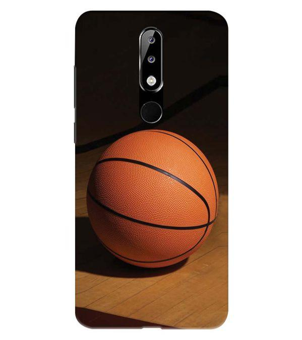 The Basketball Back Cover for Nokia 5.1 Plus (Nokia X5)