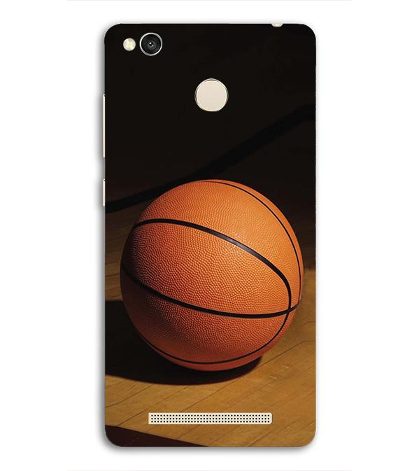 The Basketball Back Cover for Redmi 3S Prime (With Sensor)