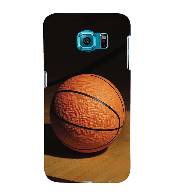 in stock cc4c4 94d71 The Basketball Back Cover for Samsung Galaxy S6