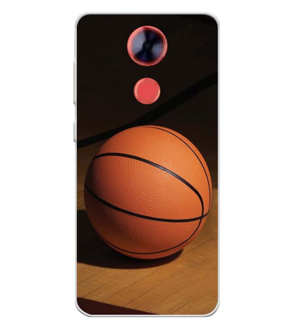 The Basketball Soft Silicone Back Cover for Comio X1