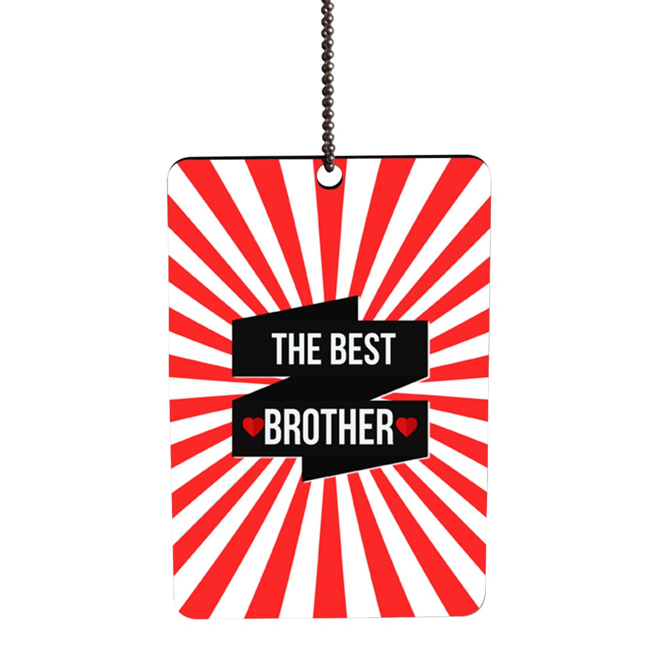 The Best Brother Car Hanging