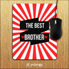 The Best Brother Mouse Pad-Image2
