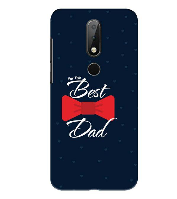 new style d4915 7897a Dad Collection Back Cover for Nokia 6.1 Plus (Nokia X6)