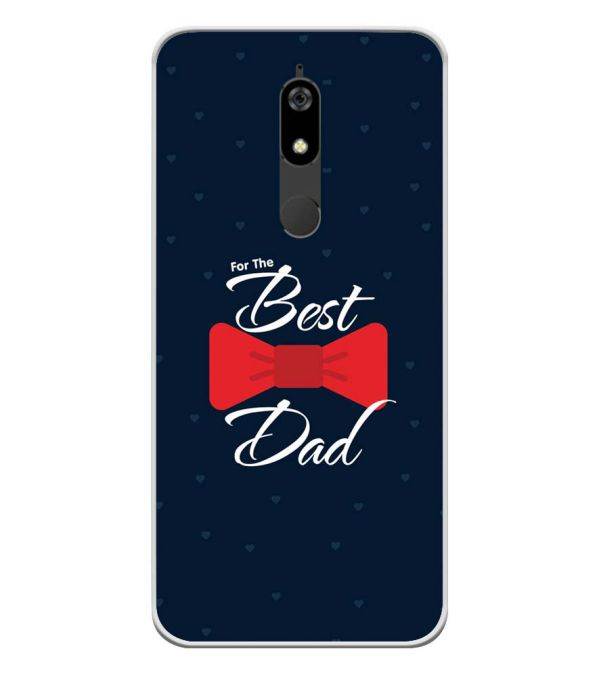 The Best Dad Soft Silicone Back Cover for Micromax Canvas Infinity Pro