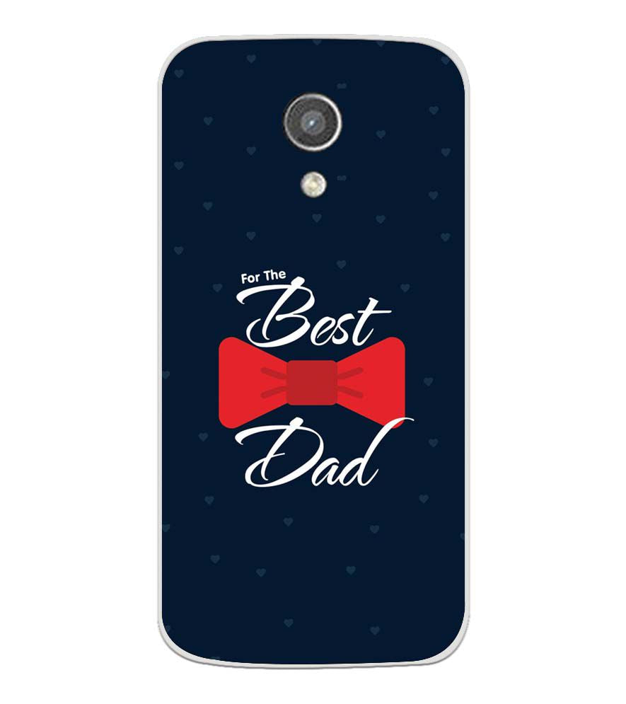buy popular 73aa9 3b8d2 The Best Dad Soft Silicone Back Cover for Motorola Moto G2