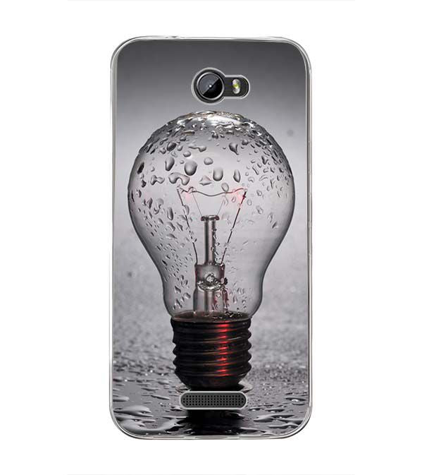 The Bulb Back Cover for Intex Lion 3