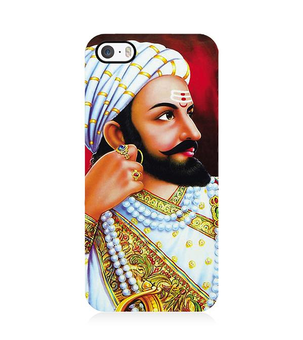 The Great Shivaji Back Cover for Apple iPhone 5 and iPhone 5S and iPhone SE