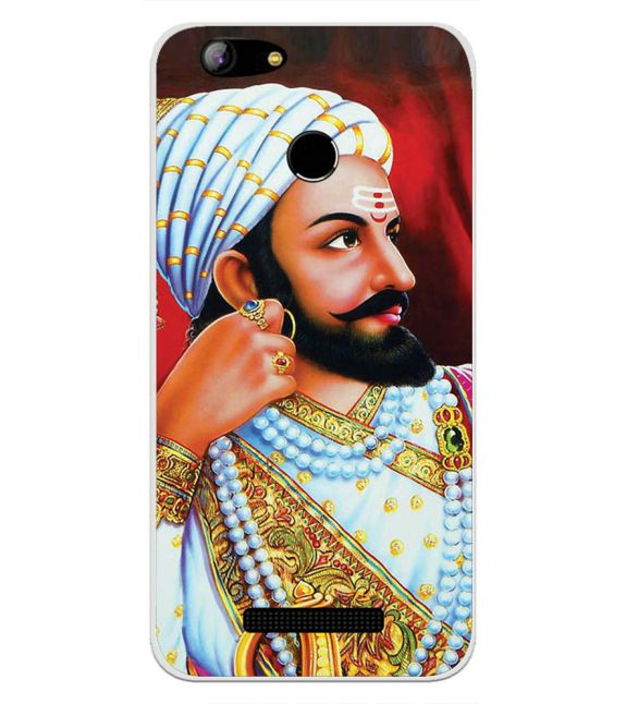 Shivaji Collection Back Cover for Intex Aqua Lions X1