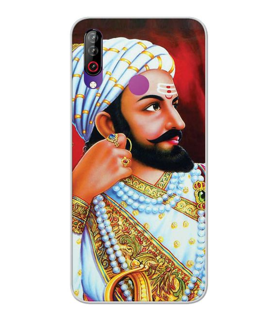 The Great Shivaji Back Cover for LG W30-Image3