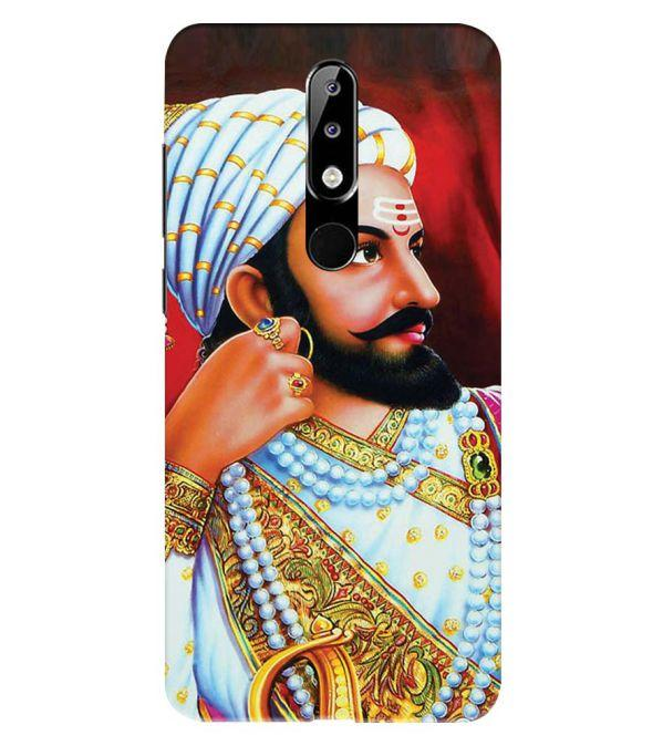 The Great Shivaji Back Cover for Nokia 5.1 Plus (Nokia X5)