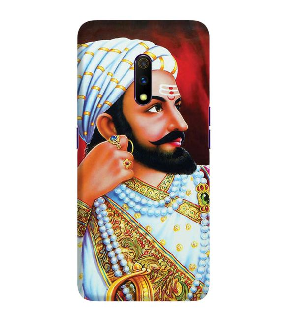 The Great Shivaji Back Cover for Realme X
