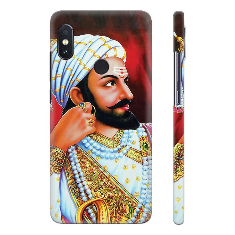 fcd24524a Buy Printed The Great Shivaji Cool Phone Cover for Xiaomi Redmi Note ...