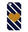 The Heart Back Cover for Apple iPhone 4 : 4S