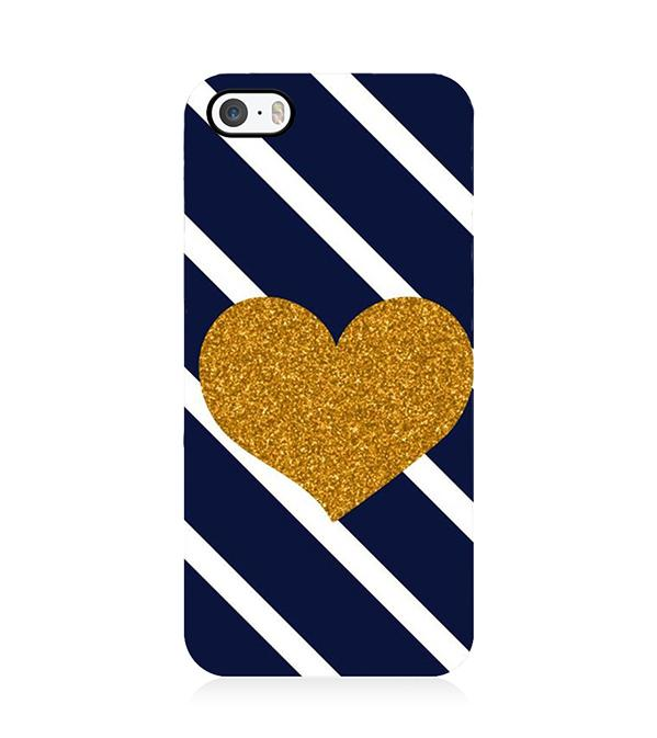 9557638941 The Heart Back Cover for Apple iPhone 5 and iPhone 5S and iPhone SE