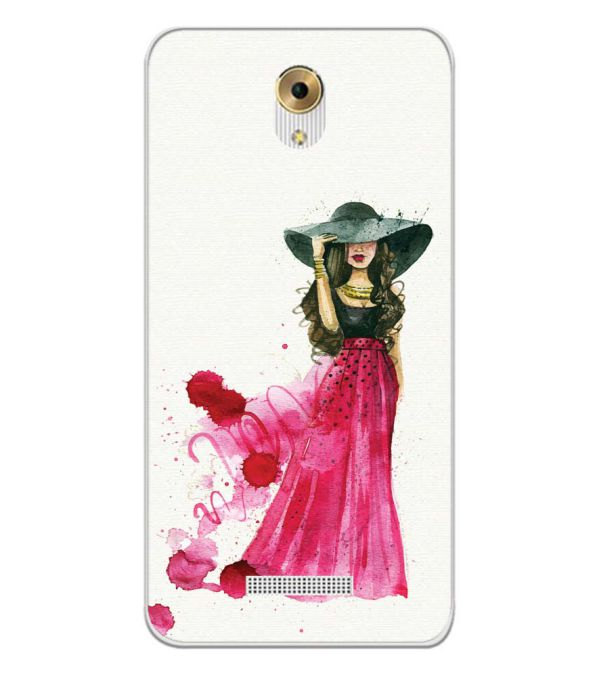 The Lady Back Cover for Coolpad Mega 5M-Image3