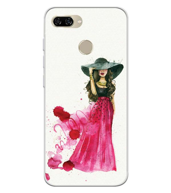 The Lady Soft Silicone Back Cover for Gionee S11 lite