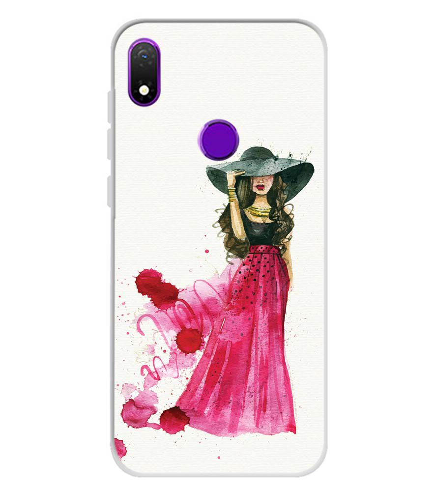 The Lady Soft Silicone Back Cover for Mobiistar X1 Notch