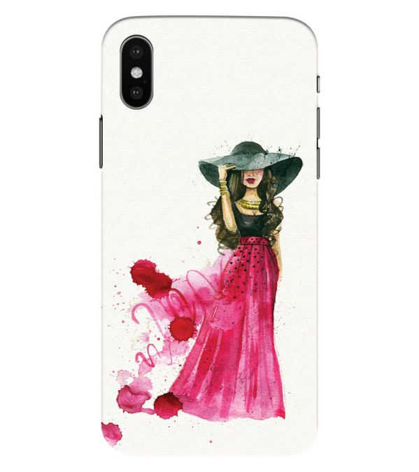 The Lady Back Cover for Apple iPhone XS Max (Big 6.5 Inch Screen)