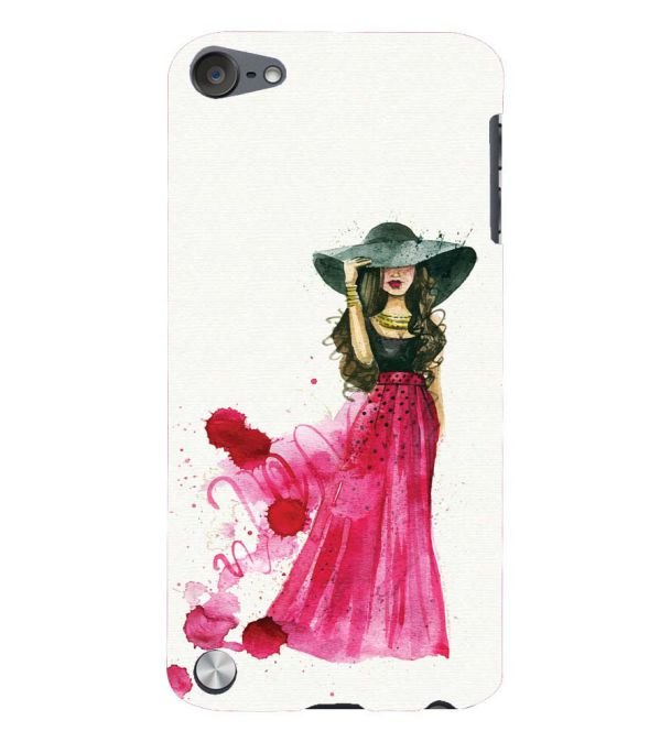 The Lady Back Cover for Apple iPod Touch 5