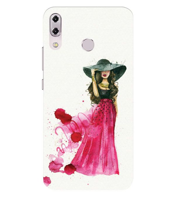 The Lady Back Cover for Asus Zenfone 5z ZS620KL
