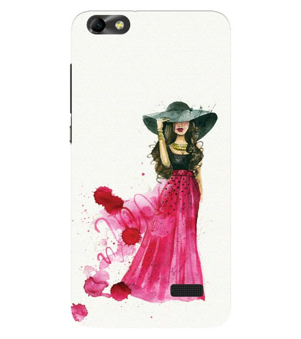 The Lady Back Cover for Huawei Honor 4C
