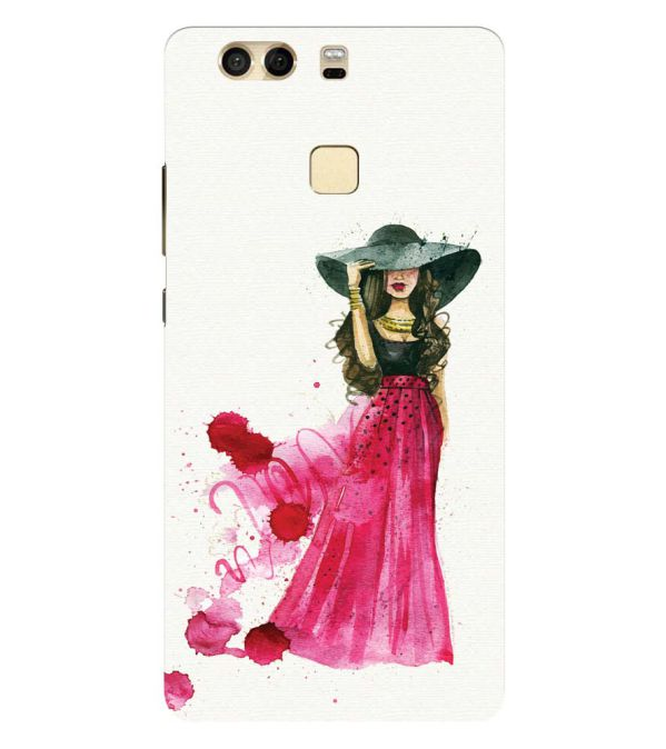 The Lady Back Cover for Huawei P9