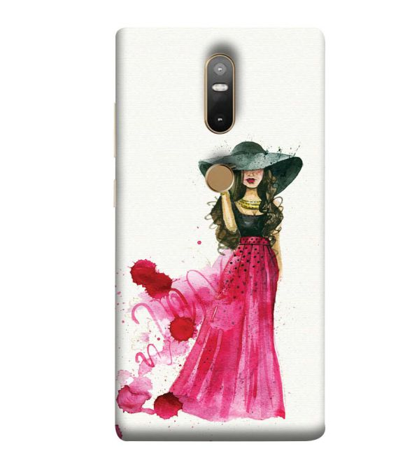 The Lady Back Cover for Lenovo Phab 2 Plus