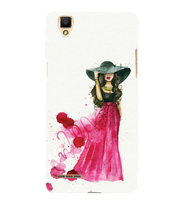 The Lady Back Cover for Oppo F1