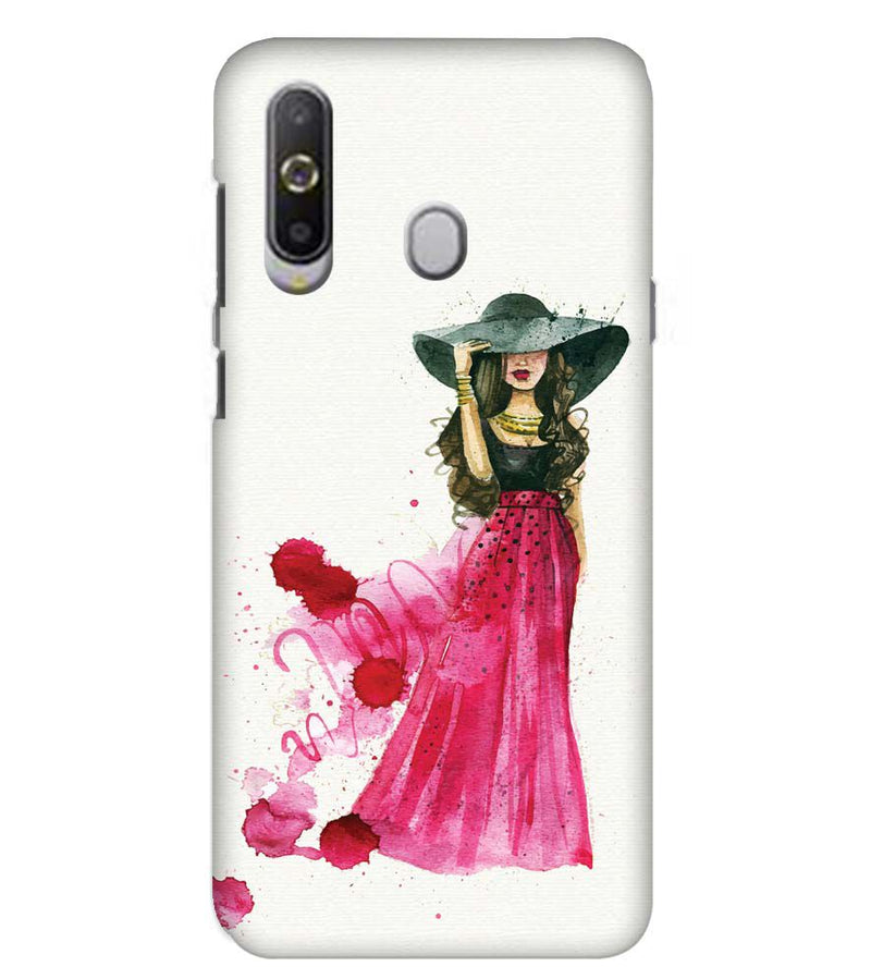 The Lady Back Cover for Samsung Galaxy A8s