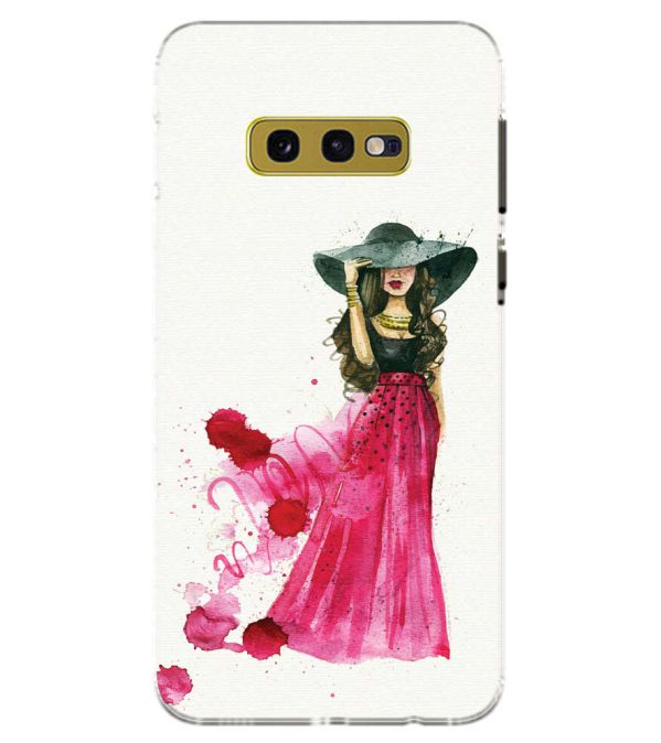 The Lady Back Cover for Samsung Galaxy S10e (5.8 Inch Screen)