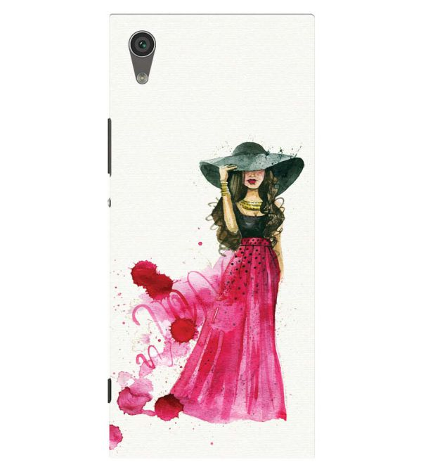 The Lady Back Cover for Sony Xperia XA1 Plus