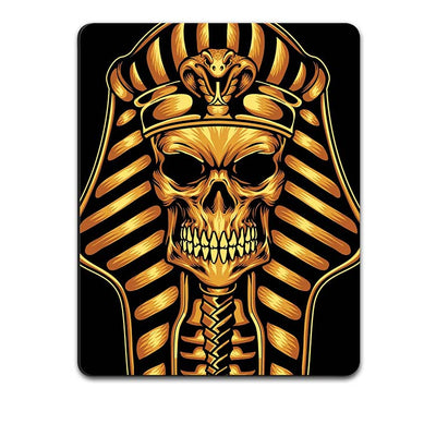 The Mummy Skull Mouse Pad