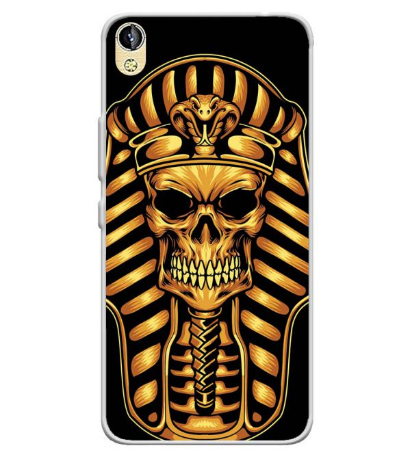 The Mummy Skull Soft Silicone Back Cover for Infinix Smart 2