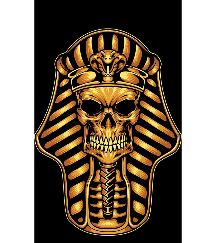 The Mummy Skull Back Cover for Intex Intx Trend Lite