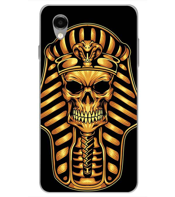 The Mummy Skull Back Cover for ITEL PWO Pro