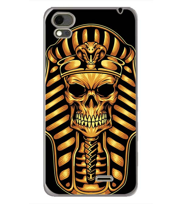 The Mummy Skull Back Cover for Karbonn Aura Note 4G