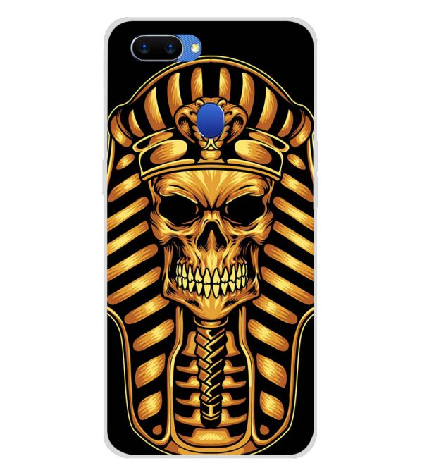 The Mummy Skull Soft Silicone Back Cover for Oppo A5
