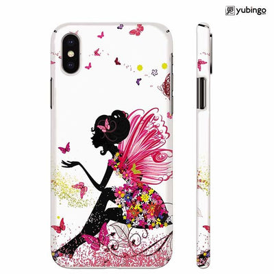 The Pixie With Her Butterflies Back Cover for Apple iPhone X