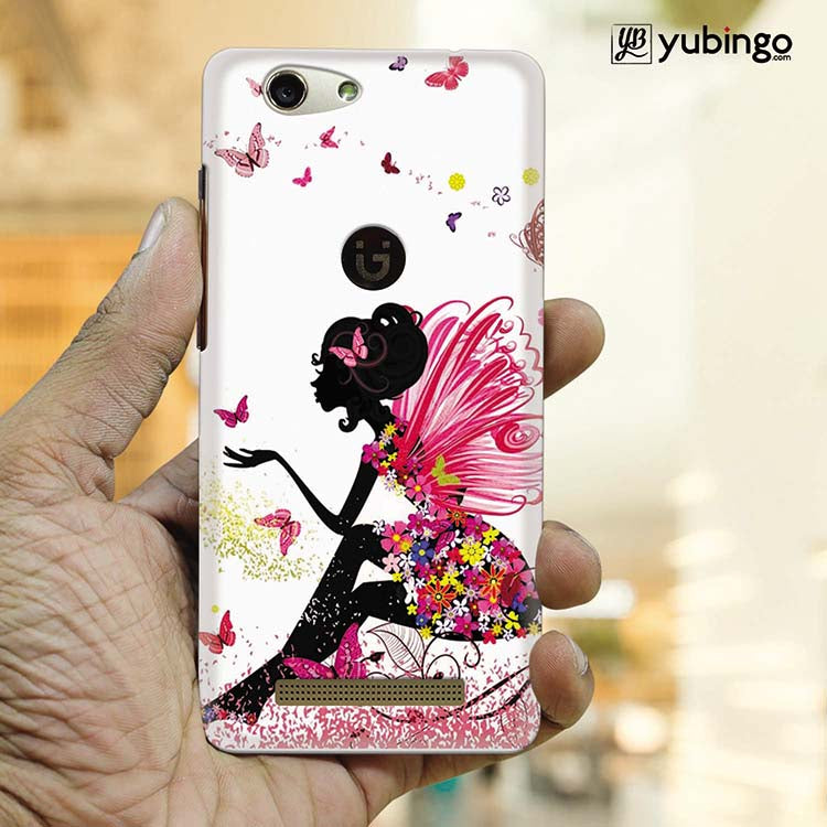 The Pixie With Her Butterflies Back Cover for Gionee F103 Pro