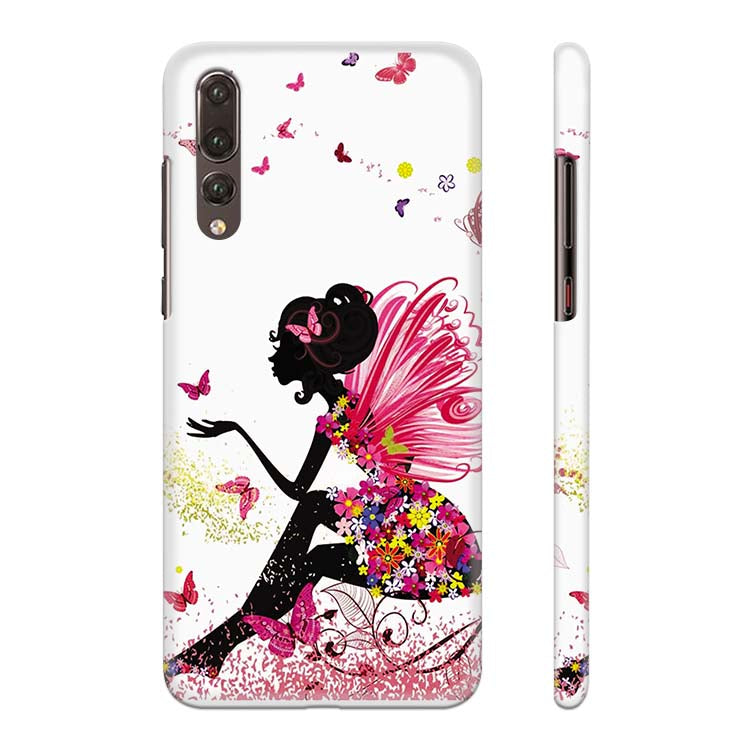 The Pixie With Her Butterflies Back Cover for Huawei P20 Pro