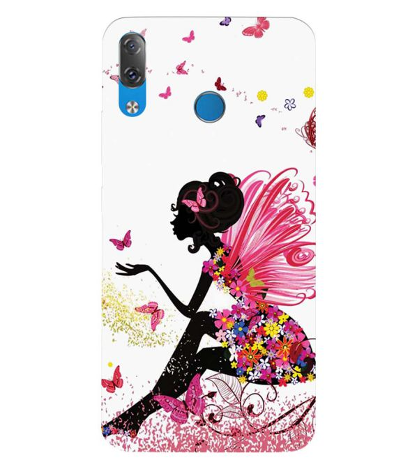 The Pixie With Her Butterflies Back Cover for Lenovo Z5