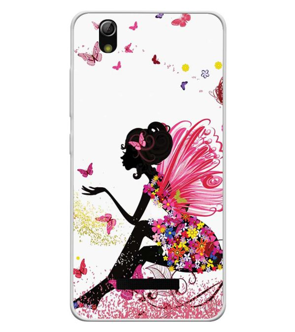 quality design 1cc3f c2292 The Pixie With Her Butterflies Soft Silicone Back Cover for Gionee P5L
