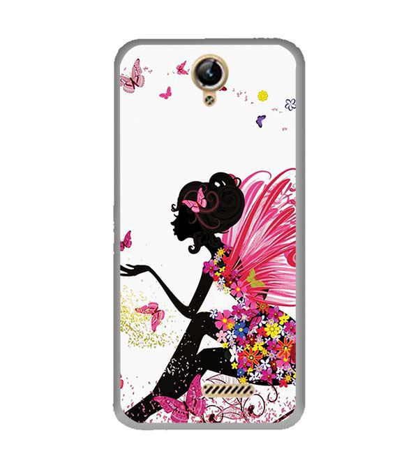 The Pixie With Her Butterflies Back Cover for Lephone W10