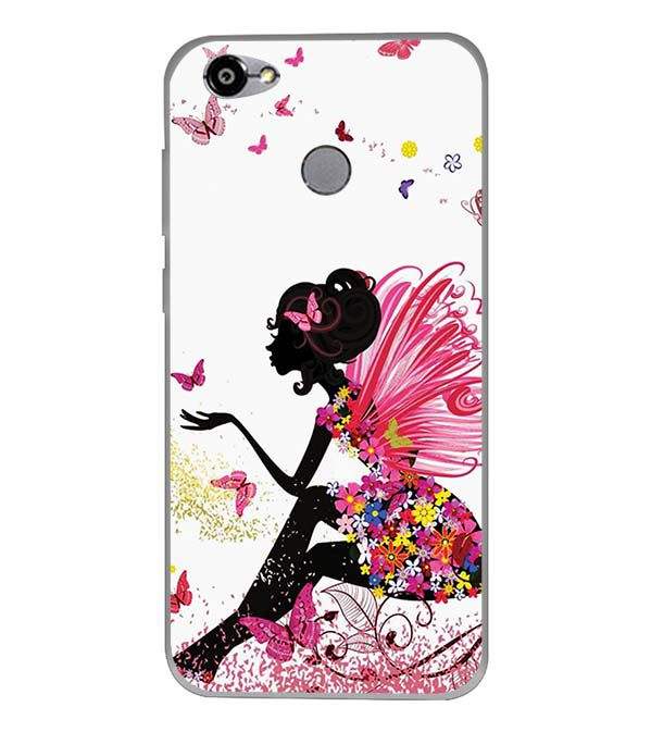 The Pixie With Her Butterflies Back Cover for Smartron TPhone (P)