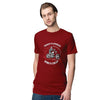 Therapy Vs Wind Men T-Shirt-Maroon