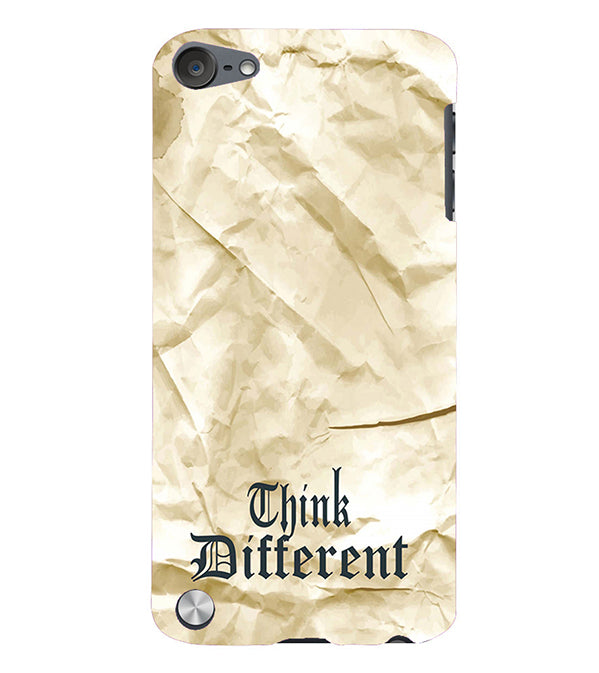 Think Different Back Cover for Apple iPod Touch 5