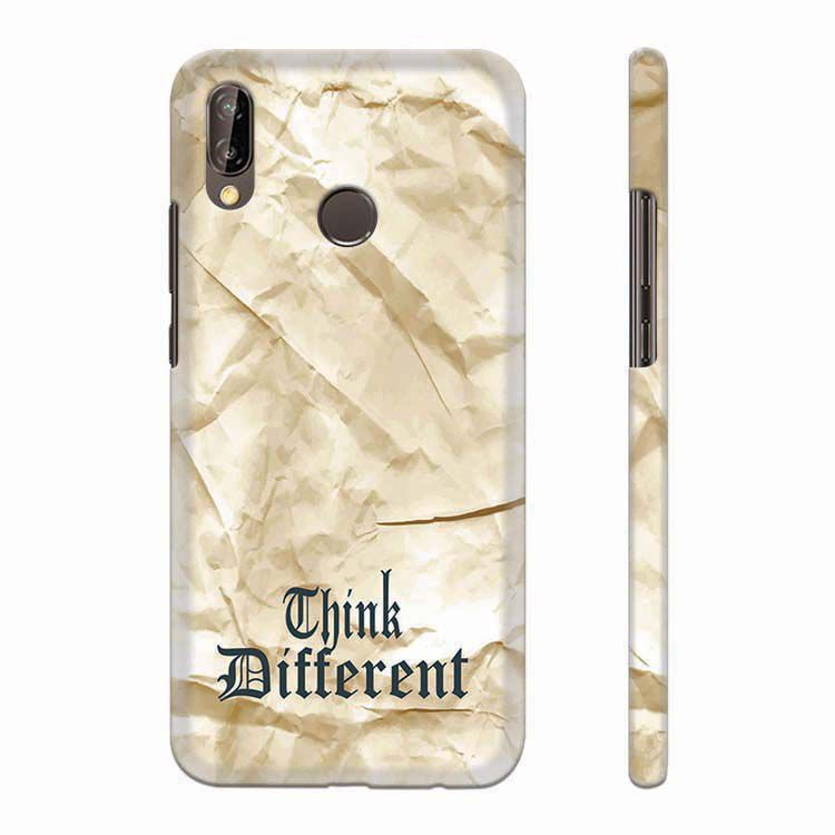 the latest 829ac ab64c Think Different Back Cover for Huawei P20 Lite
