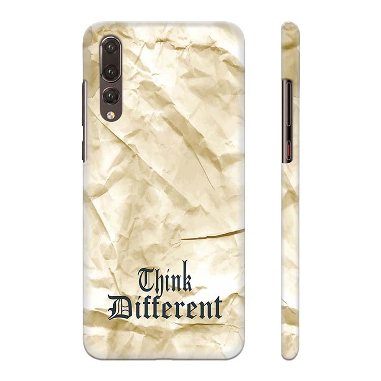 Think Different Back Cover for Huawei P20 Pro