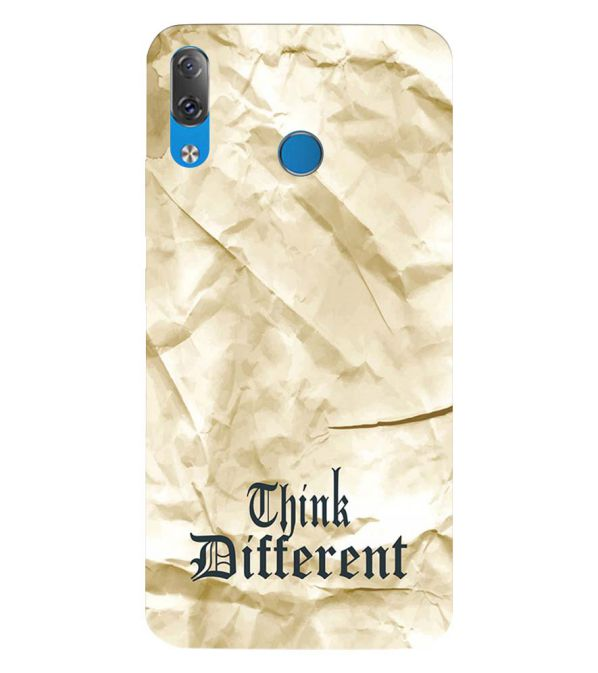 Think Different Back Cover for Lenovo Z5